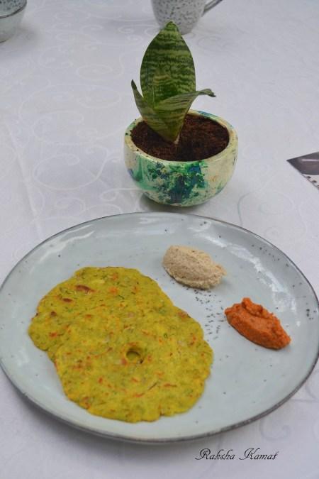 Traditional Karnataka akki roti