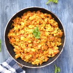 Paneer Bhurji, Spicy Cottage Cheese Crumble