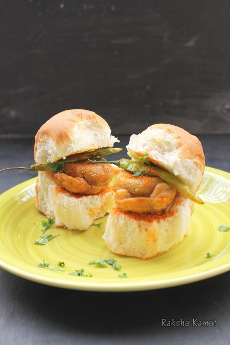 Vada Pav - Indian Burger Recipe | How to make vada pav