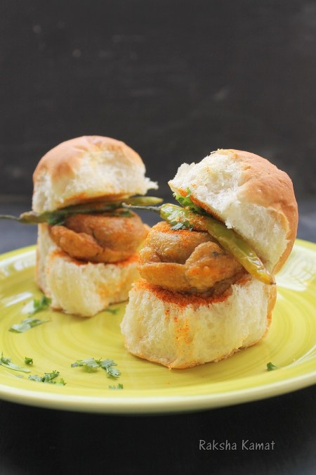 Vada Pav - Spicy Indian Burger