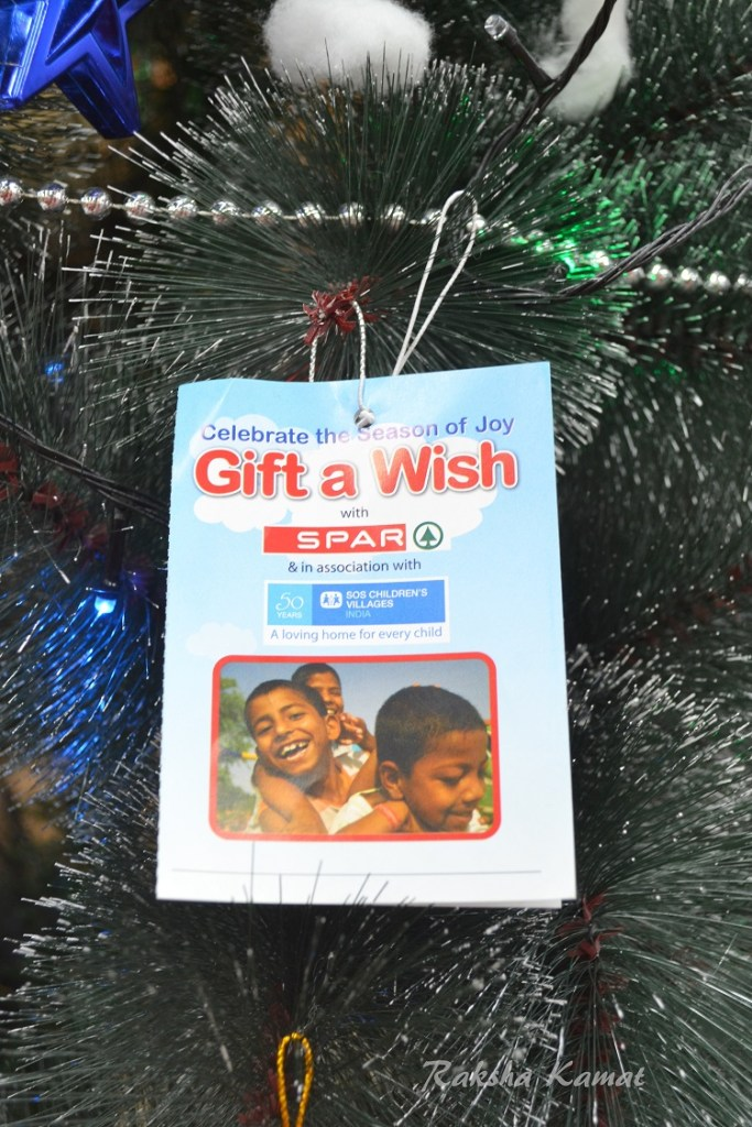 GIFT A WISH Initiative By SPAR