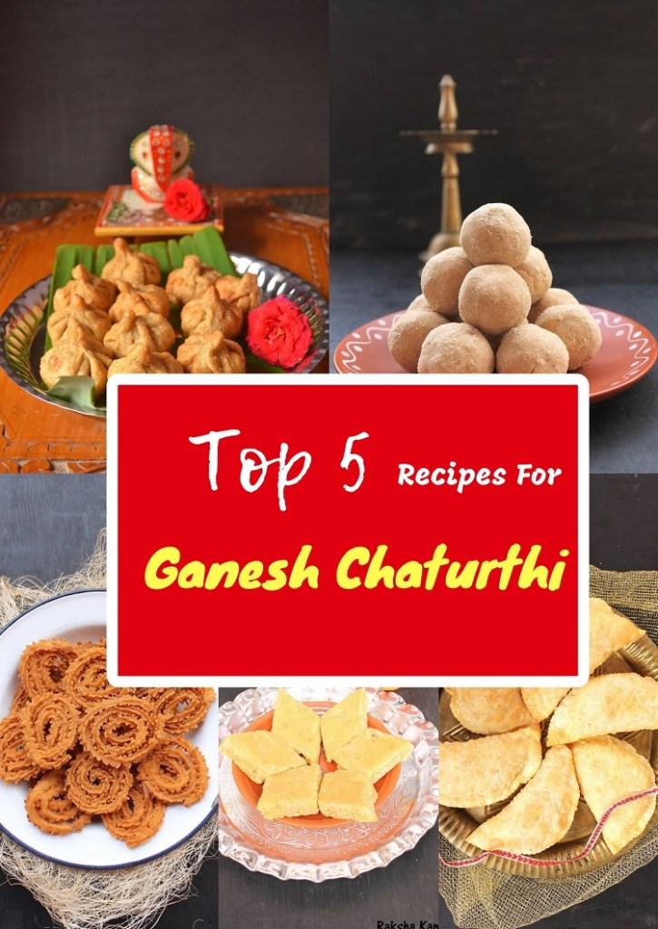 Top 5 Must Make Ganesh Chaturthi Recipes