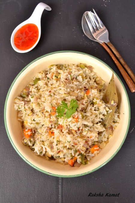 Egg fried rice, egg rice, chinese rice