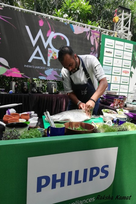 Chef Sebastian Simon, Philips Masterclass, WOAP 2019