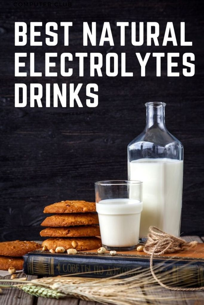 Best natural electrolyte drinks