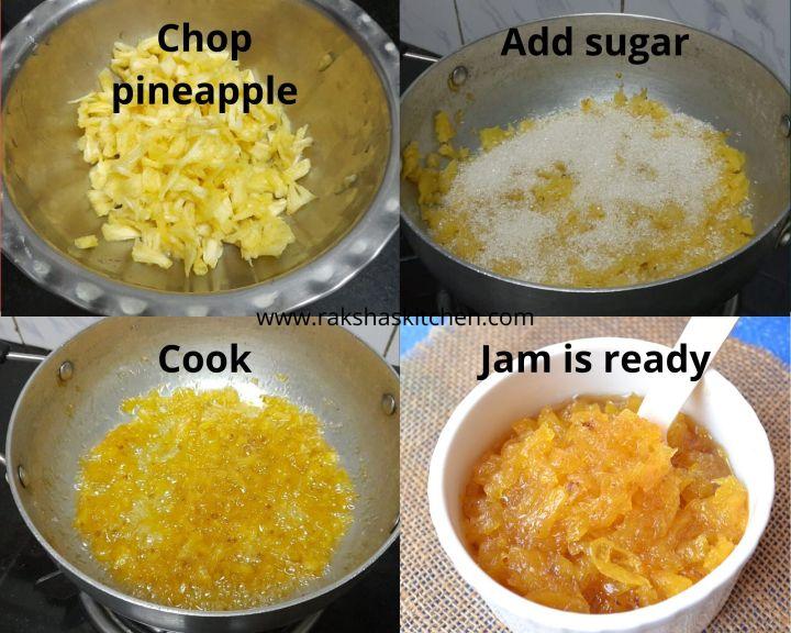 steps to make jam