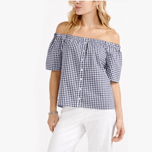 Shop Reitmans this summer! From cute off the shoulder tops and the hottest trends with Rakuten Canada