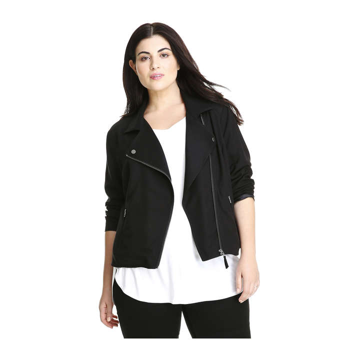 Joe Fresh Extended Sizes Moto Jacket for Fall