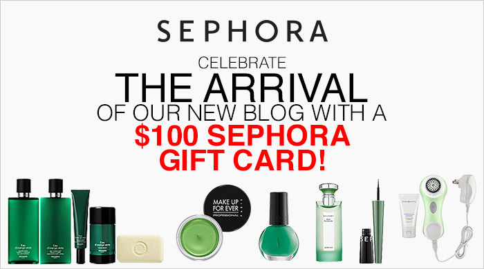 Final Giveaway: $100 Sephora Gift Card