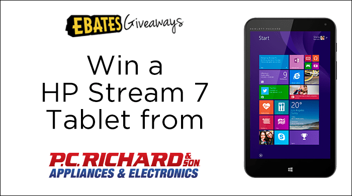 Win a Tablet from P.C. Richard & Son