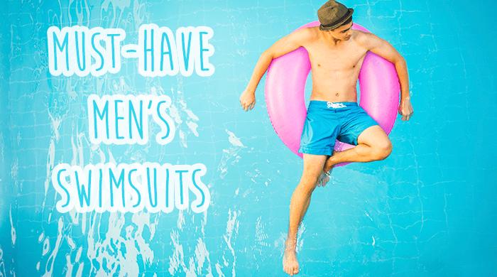 4 Trendy Men's Swim Trunks