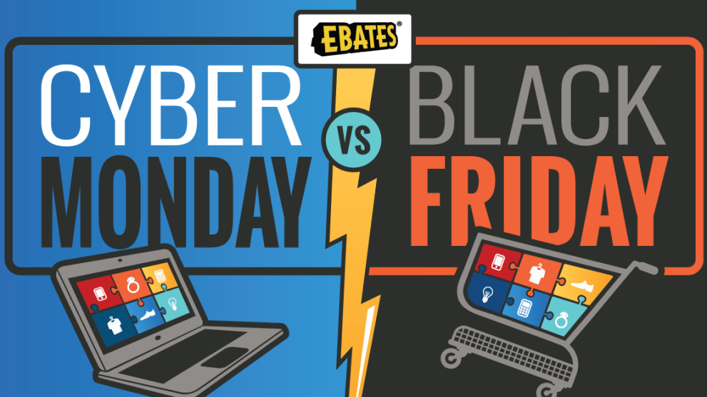 Cyber Monday vs. Black Friday: Statistics & Shopping Tips [Infographic]