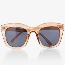 Translucent Oversized Square Sunglasses