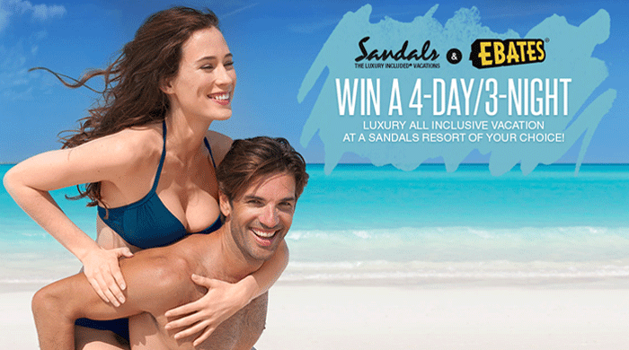 Sandals Summer Vacation Giveaway