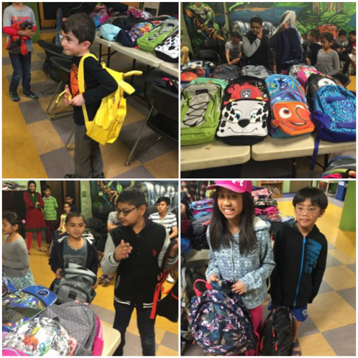 Cityteam backpack drive