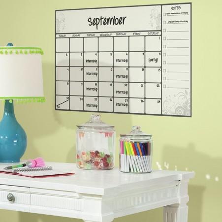 Whiteboard wall calendar