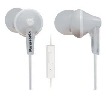 Panasonic ErgoFit In-Ear Earbud Headphones with Mic + Controller