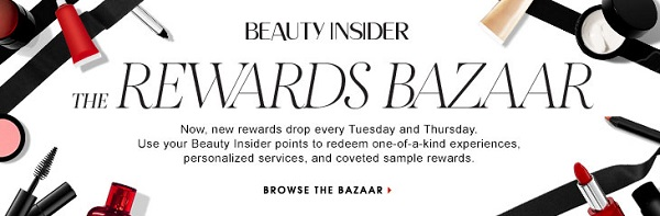 Sephora Beauty Insider rewards program