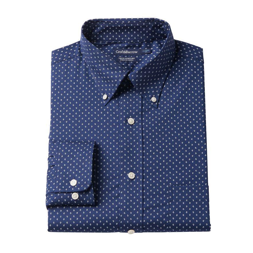 Croft & Barrow Easy-Care True Comfort Regular-Fit Dress Shirt