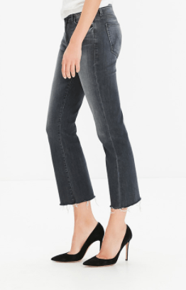 Mother Denim Insider Crop Fray
