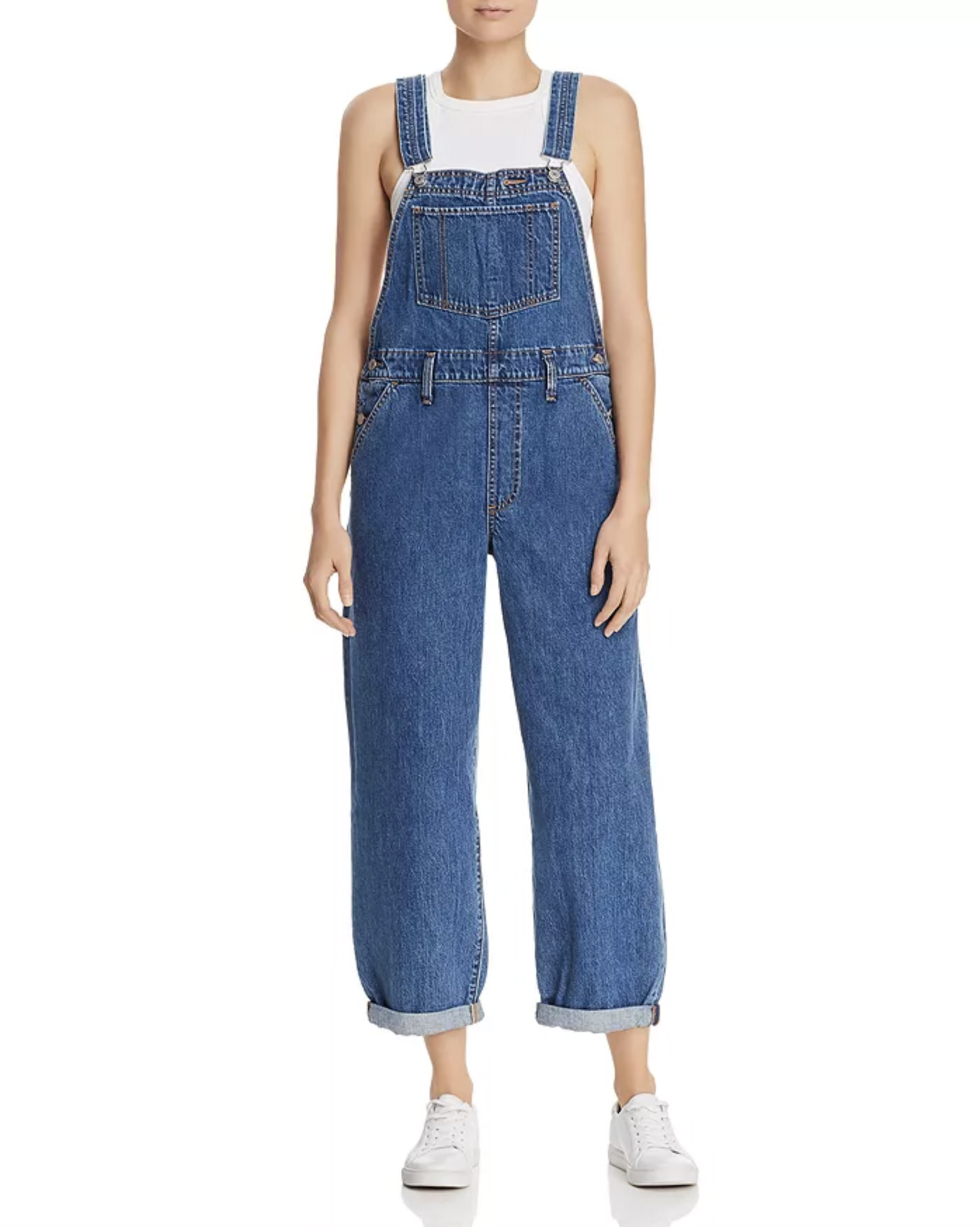 Levi's Baggy Denim Overalls in Larger Than Life