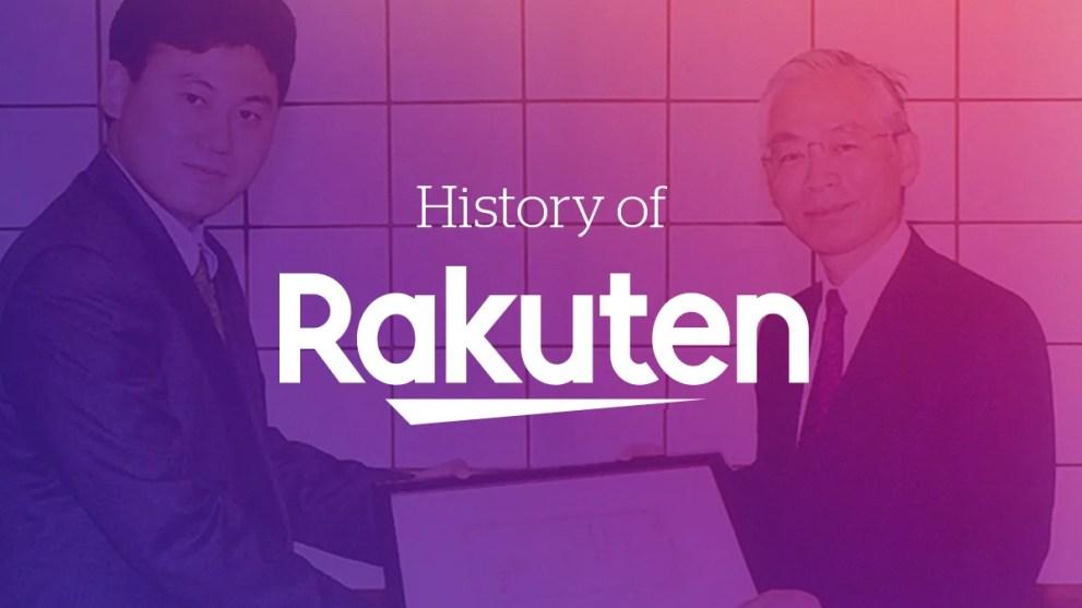 The History of Rakuten