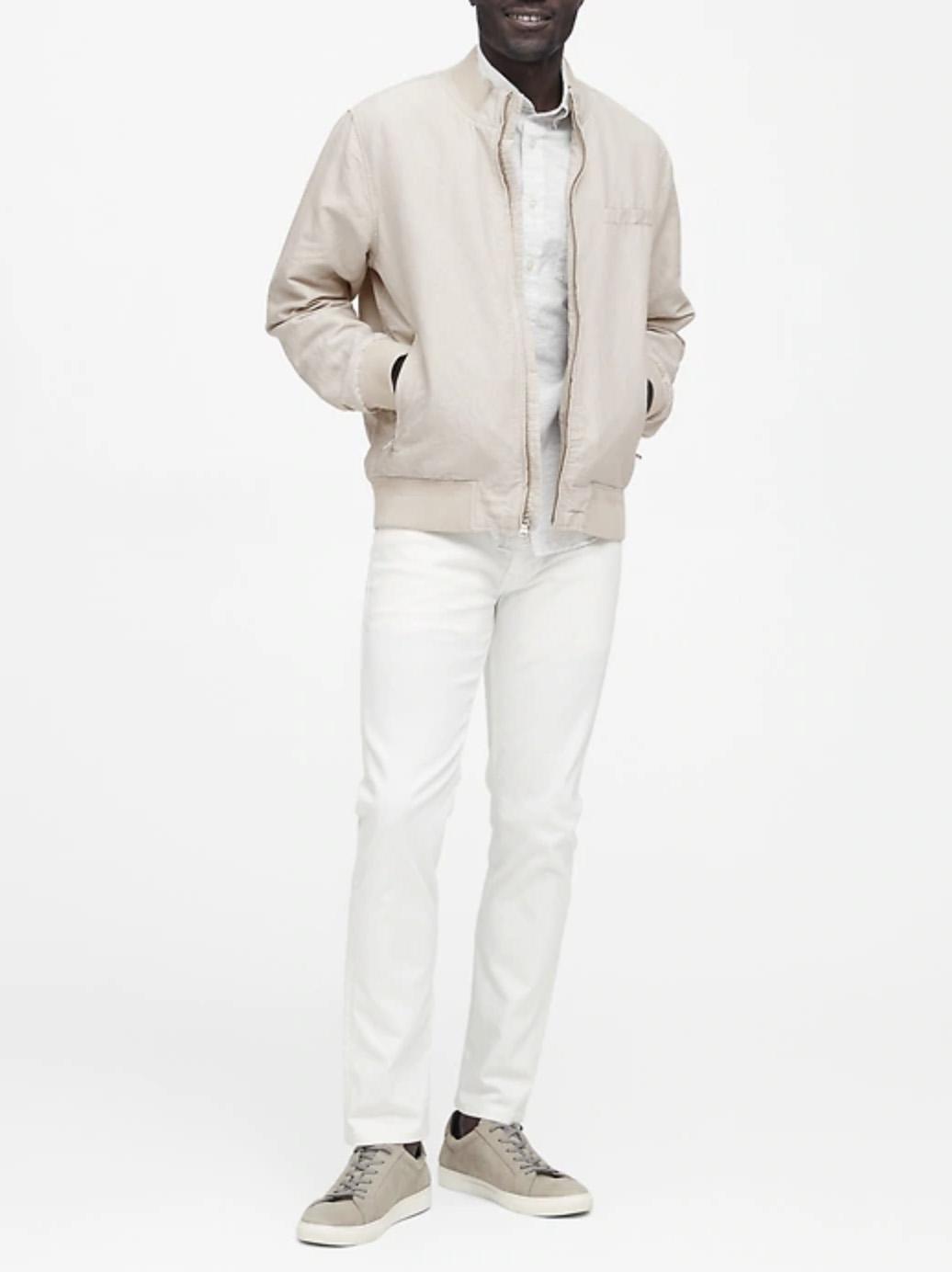 Banana Republic Linen-Cotton Jacket
