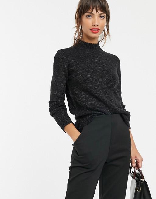 Vero Moda High Neck Knitted Sweater