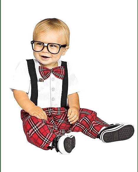 Baby Nerd Halloween Costume