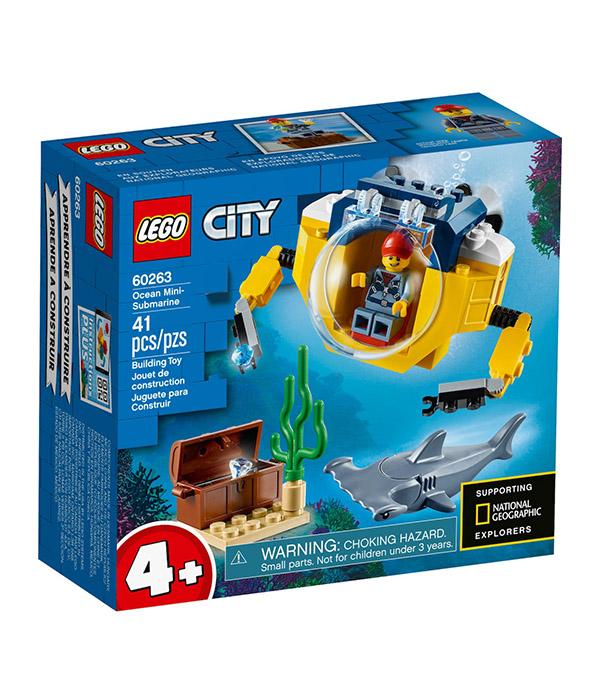 LEGO® City Ocean Mini-Submarine Set