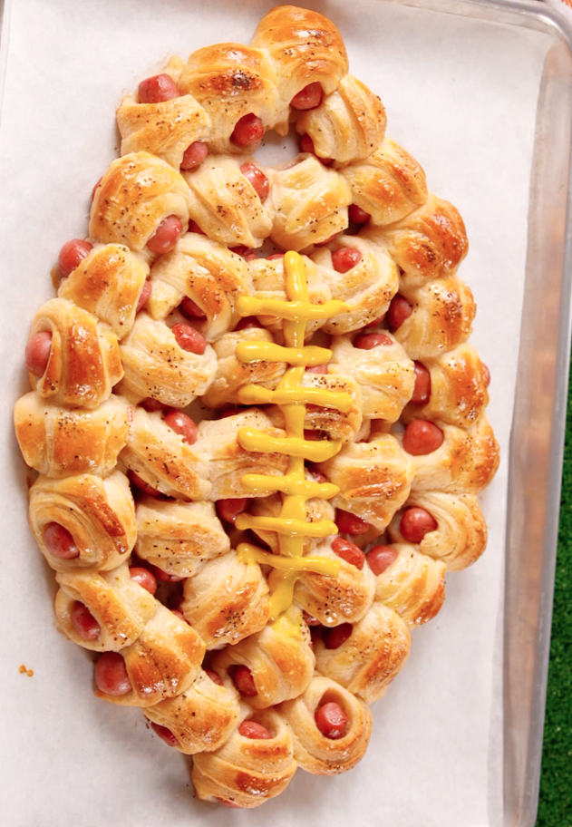 Delish Pigskin in a Blanket