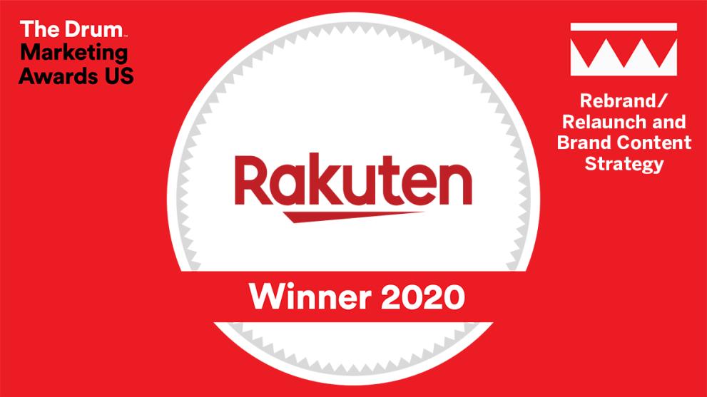 Rakuten Celebrates Two Wins at The Drum Marketing Awards USA 2020