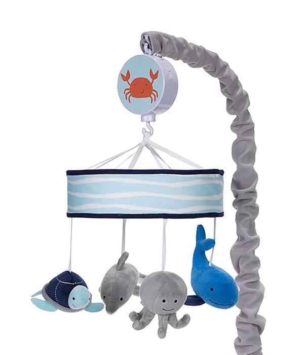 Lambs & Ivy® Ocean Blue Musical Mobile