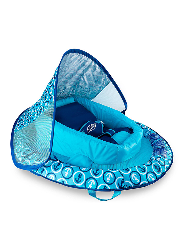 Anchor Infant Baby Spring Float with Sun Canopy