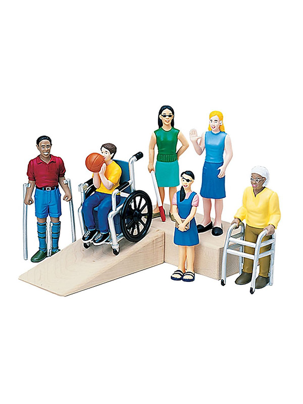 Marvel Education Friends With Diverse Abilities Figurine Set