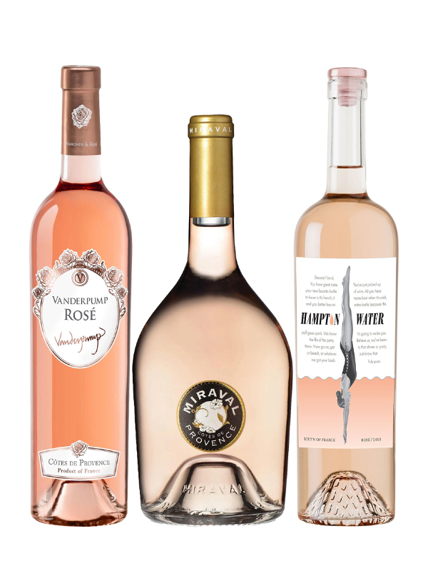 Rosé Wine Trio