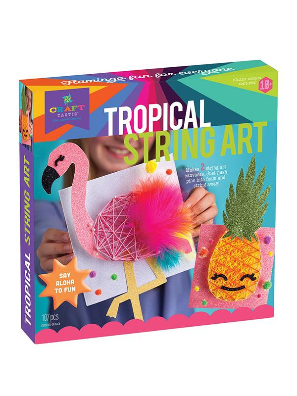 Tropical String Art Craft Kit