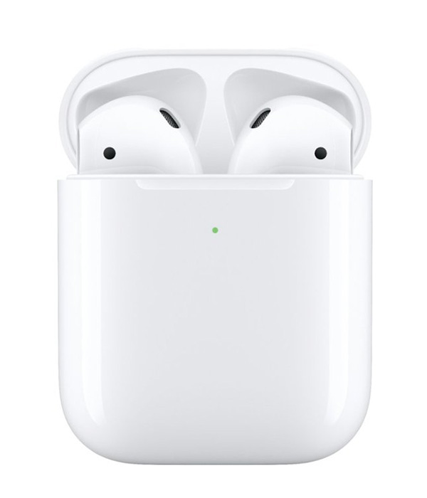 Apple Geek Squad Certified Refurbished AirPods with Wireless Charging Case