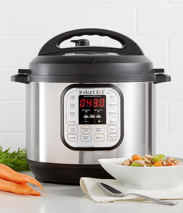 Instant Pot 7-in-1 Programmable Pressure Cooker 6 Qt.