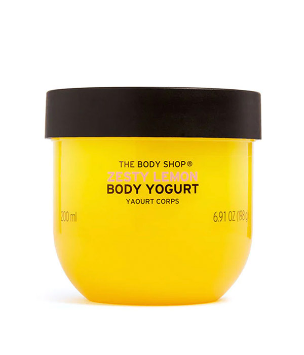 Limited Edition Zesty Lemon Body Yogurt
