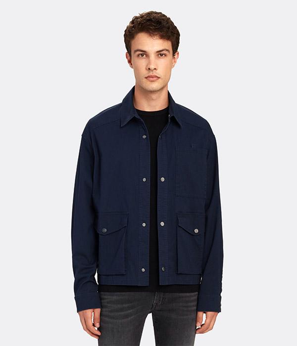 Anthony Thomas Melillo Stretch Cotton Utility Jacket