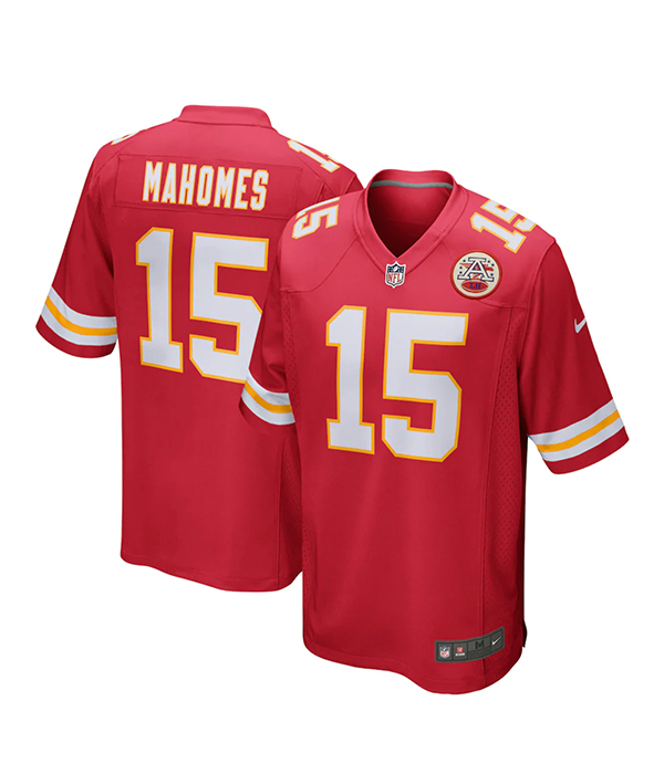 Men's Kansas City Chiefs Patrick Mahomes Nike Red Game Player Jersey