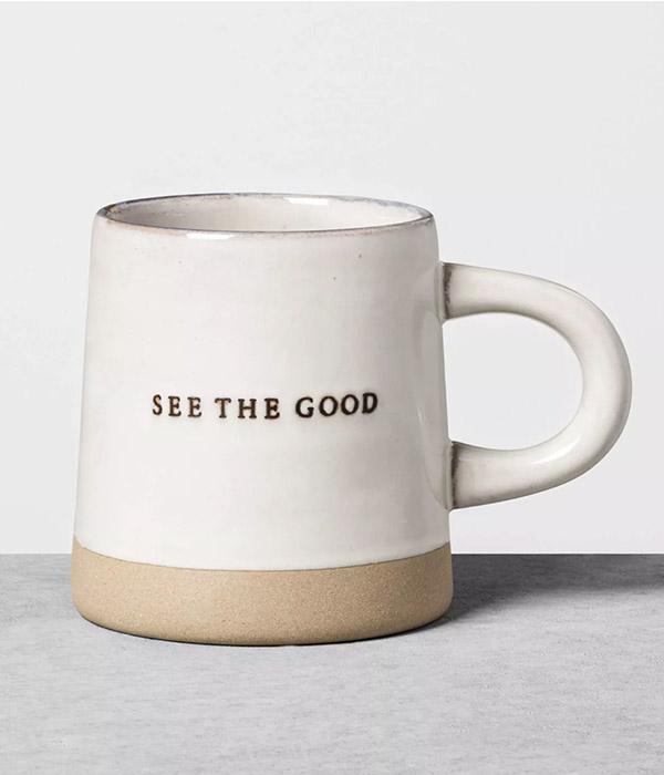'See The Good' Stoneware Mug