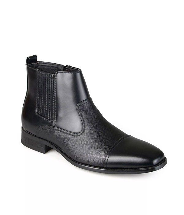 Vance Co. Alex Men's Cap-Toe Dress Boots
