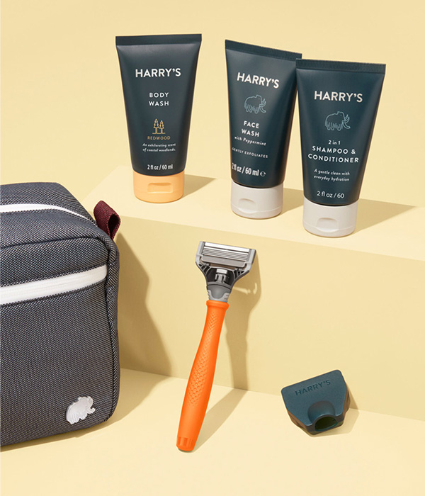 Shave and Shower Kit