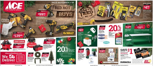 Ace Hardware Black Friday 2020 ad