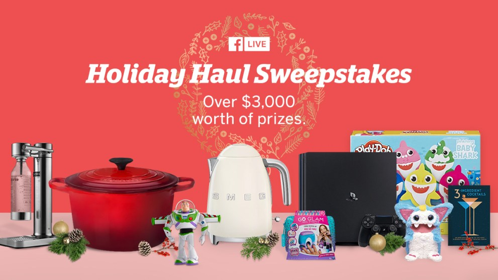 Holiday Haul Sweepstakes