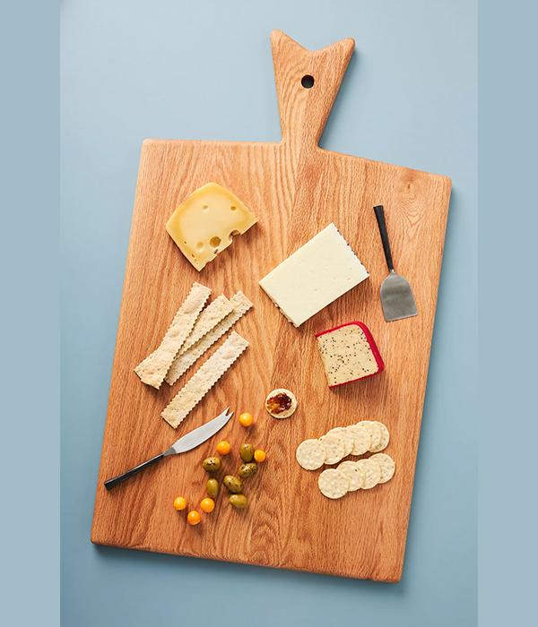 Oak Large Paddle Cheese Board