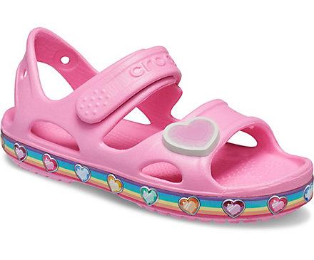 crocs shoes for kids - Fun Lab Rainbow Sandal