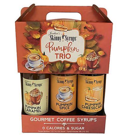 Jordan's Skinny Syrups Pumpkin Collection Trio